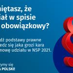 Pamiętasz, że udział w spisie jest obowiązkowy? Sprawdź podstawy prawne i dowiedz się jaka grozi kara za odmowę udziału w NSP 2021